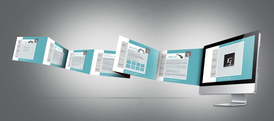 company website design