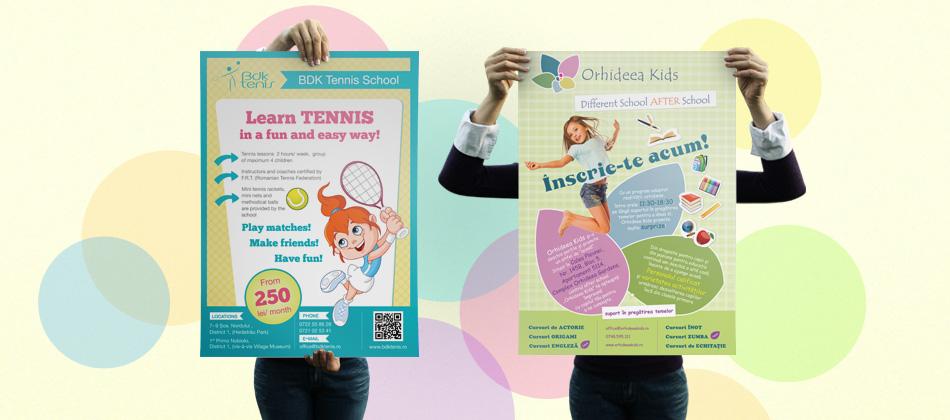 Children poster design