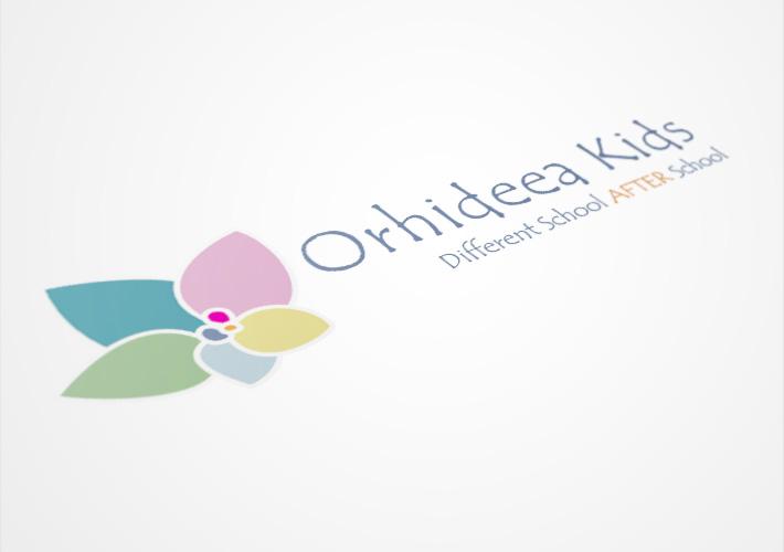 Logo Orhideea Kids