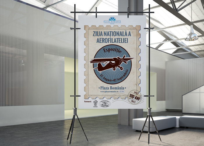 poster Aerofilatelie