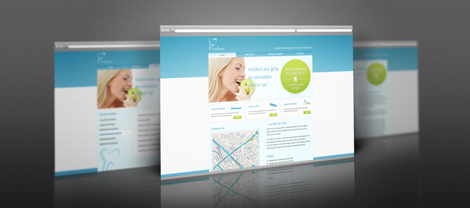 VioDent webdesign