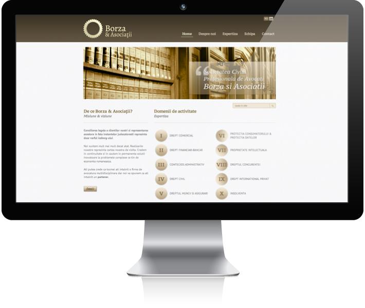 Homepage Borza&Asociatii